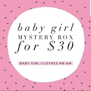 Mystery box baby girl nb